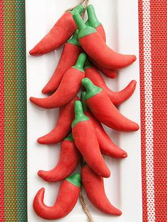 Add some spice to your Cinco de Mayo with these strictly sweet, pepper-shaped candies.