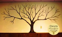 family tree picture on wall Tree Wall Painting, Canvas Painting Quotes, Painting For Kids, Diy Painting, Tree Paintings, Family Tree Mural, Family Trees, Hallway Decorating, Decorating Ideas