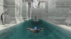 Thessalonikis Wet Dream Thermal Bath Complex Proposal / NaNA (NotaNumber Architects)