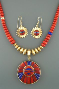 Andy Lee Kirk jewelry is bold and beautiful.