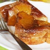 Cream Cheese-Stuffed Pineapple Upside-Down Overnight French Toast