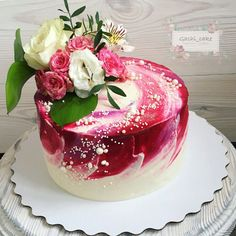 Shared by Where YoUth Rise. Pretty Cakes, Beautiful Cakes, Amazing Cakes, Girly Cakes, Fancy Cakes, Just Cakes, Cakes And More, Foto Pastel, Caking It Up