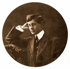 Baron Jacques d'Adelswärd-Fersen (1880–1923) French novelist & poet. The family steel furnaces had become profitable enough to make Jacques d'Adelswärd a rich & 'eligible' bachelor when he inherited at the age of 22. In 1903 a scandal involving school pupils made him persona non grata in the salons of Paris, & shed dashed his marriage plans; after which he took up residence in Capri with his long-time lover, Nino Cesarini. His house was eventually christened Villa Lysis