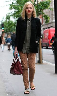Fearne Cotton Rock Chick Style, Fearne Cotton, Comfy Casual, Cotton Style, Fall Looks, Celebrity Pictures, Style Icons, Casual Outfits, Womens Fashion