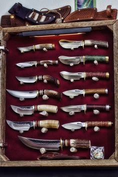 Handmade custom knives for hunting, camping, fishing, hiking, exploring and survival. Visit bp-Outdoors.com