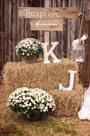 Image result for haybale wedding rehearsal burlap centerpieces