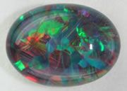 Composite Opal - Pictures of Opal Doublet or Opal Triplet