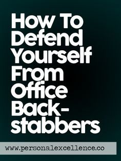 Protect yourself from the dreaded office mean girls...