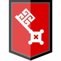 Bremen Wappen - Das Wappen von Bremen mit seinen Schl�ssel im modernen Style.