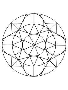 Mandala Kleurplaat. Kleurplaten Dieren kleurplaten Mandala