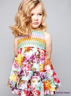 Pan con Chocolate, moda infantil, ropa para niños y niñas colección de primavera-verano Pan con Chocolate