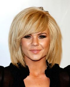 Косая асимметричная челка ::: onelady.ru ::: #hair #hairs #hairstyle #hairstyles