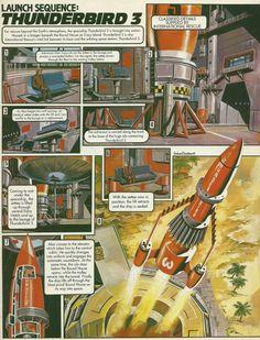 Thunderbird Three by Graham Bleathman