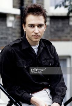 Alan Wilder of the pop group Depeche Mode poses for a portrait at his house on September 05, 1982 in London, England.