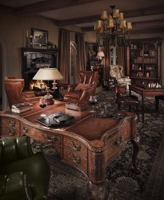 Collector's Series - The Library by Theodore Alexander - Available at Brashears Furniture