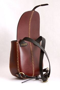 mini leather backpack ...