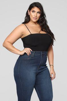 Don't Be So Square Bodysuit - Black Live Girls, Bodysuit Fashion, Square Necklines, Summer Fashion Outfits, Black Bodysuit, Bodysuits, Bell Bottom Jeans, Taupe, Nova