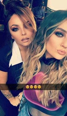 Jesy Nelson and Perrie Edwards Teen Models, Role Models, My Girl, Cool Girl, Little Mix Girls, Litte Mix, Mixed Girls, Jesy Nelson, Dye My Hair