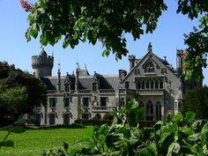 Château de Keriolet by HSSand, via Flickr | Finistère Bretagne