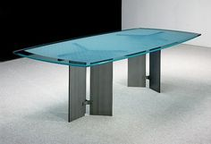 Modern Glass Top Conference Tables And Industrial Metal Conference Tables  For Sale.