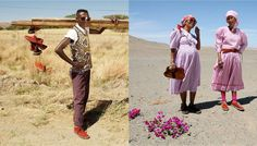 Namibian street style with Herbert Schier vellies