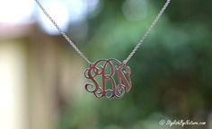 Hi Everyone, Today I wanna share the feeling of your LOVE being around you all the time . Exactly that's what I. Monogram Jewelry, Custom Name Necklace, Pendants, Names, Pendant Necklace, Diamond, Stylish, Accessories, Beauty