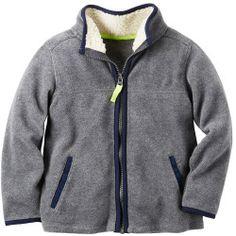 """2675988_Heather%3Fwid%3D800%26hei%3D800%26op_sharpen%3D1 Best Deal """"Toddler Boy OshKosh B'gosh Heavyweight Colorblock Striped Jacket"""