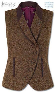 Ladies tweed waistcoat lucille Tweed in 2019 Tweed waistcoat tweed waistcoat woman - Woman Waistcoats Tweed Waistcoat, Tweed Jacket, Country Fashion, Country Outfits, Moda Medieval, Tweed Run, Bcbg, Image Fashion, Sport Chic