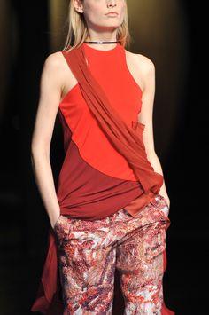 Prabal Gurung at New York Fashion Week Fall 2014 - StyleBistro