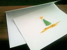 Sea Glass, seaglass, Christmas cards, Greeting Card, holiday craft idea