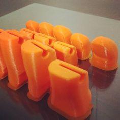Nosso primeiro projeto de prótese funcional os dedos ficaram perfeitos! #protese #prosthetics #hand #dedos #fingers #3dprinting #impressao3d #health #startup #solidsolutions by solidsolutions