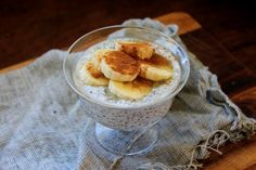 petite kitchen: creamy coconut chia seed breakfast pudding