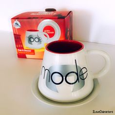 Edna Mode, Cup And Saucer Set, The Incredibles, Characters, Mugs, Box, Tableware, Disney, Beautiful