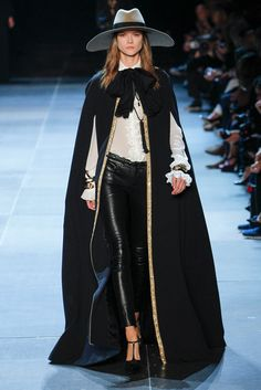 Saint Laurent Spring 2013 Ready-to-Wear Fashion Show - Kasia Struss (Women)