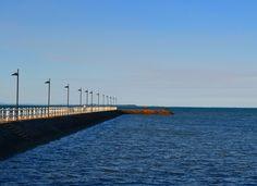 #sea #pier #ocean #brisbane #australia