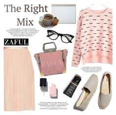 """ZAFUL/ http://www.zaful.com/?lkid=8297"" by helenevlacho ❤ liked on Polyvore featuring Soludos, Postalco, Chanel and zaful"