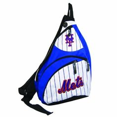 MLB New York Mets Sling Slingback, Medium, Royal by Concept 1. $31.99. The slingback is a great cross-body backpack that provides the capacity to store your laptop and take it anywhere with you comfortably.