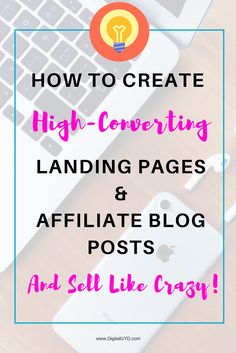 Create high-converting landing page, optin page and affiliate blog posts that sell like crazy. Get more subscribers and boost affiliate income. | increase affiliate income | get more subscribers | create engaging blog posts that sell | grow your email list | make money blogging | making money from home | earn money online | SAHM | BloggingTips | web design tips via @swadhinagrawal