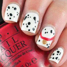 101 Dalmations nail art