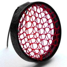 Firebird | Contemporary Brooches by contemporary jewellery designer Suzanne Claire