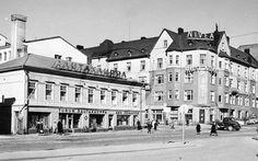 Läntinen keskusta - Vanhoja kuvia Turusta - Suomikuva.fi Helsinki, Finland, Louvre, City, Building, Travel, Voyage, Buildings, Viajes