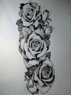 rose tattoo sleeve women roses tattoo men rose arm tattoo men women … Source by ilovemybailey Rosen Tattoo Mann, Rosen Tattoos, Rose Tattoo On Arm, Rose Tattoos For Men, Lotus Tattoo, Tattoo Arm, 3 Roses Tattoo, Tattoo Flowers, Orchid Tattoo