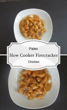 A recipe for a paleo version of firecracker chicken that is made in the slow cooker. This paleo slow cooker firecracker chicken is perfect for busy nights.