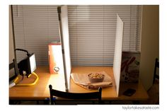The $15 Food Photography Lighting Set Up