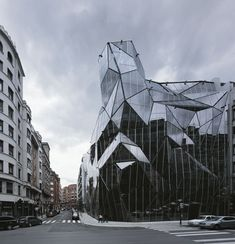 Image 8 of 38 from gallery of Basque Health Department Headquarters in Bilbao / Coll-Barreu Arquitectos. Movement Architecture, Space Architecture, Contemporary Architecture, Bilbao, Jean Nouvel, Rem Koolhaas, Frank Gehry, Bagan, Zaha Hadid