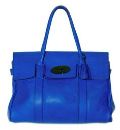 mulberry electric blue bayswater
