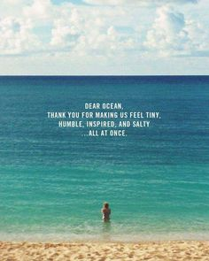 Ocean quotes, beach life quotes, ocean sayings, seashore quotes, funny beac The Words, Quotes To Live By, Me Quotes, Beach Quotes And Sayings Inspiration, Surf Quotes, Beachy Quotes, Heart Quotes, Crush Quotes, Daily Quotes