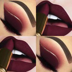 Pretty Eye Makeup, Makeup Eye Looks, Beautiful Eye Makeup, Eye Makeup Art, Smokey Eye Makeup, Cute Makeup, Skin Makeup, Eyeshadow Makeup, Eye Makeup Designs