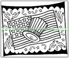 What do you think of this 4th of July printable coloring sheet from coloringbookfun.com?  Like? If so, show us the love by liking this pin. :)