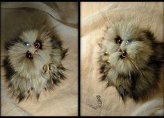 Anna Magic Owl Flower (@magic.owl) в Instagram: «совушка Сирша из меха песца ручная работа назаказ , игрушка подарок…»